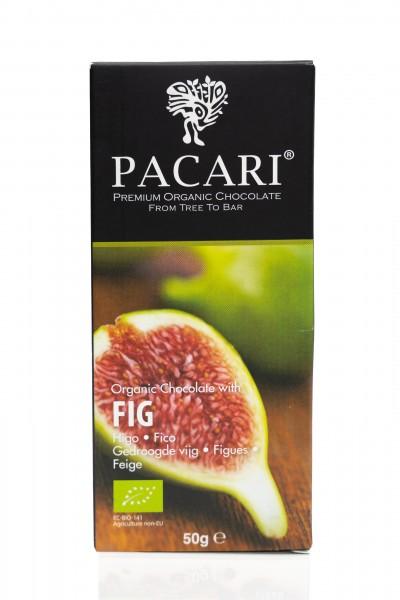 Pacari Bio Schokolade Feige, 50g