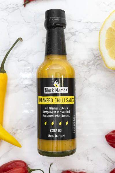 Black Mamba Habanero Chili Sauce, 180ml