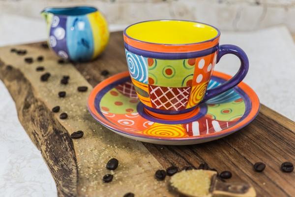 """Kaffeetasse """"Carousel"""" Multicolored"""