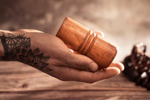 Shaker, Holzzylinder