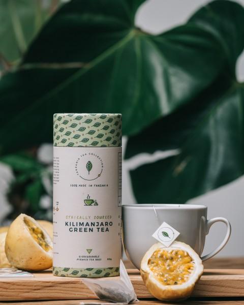 Kazi Yetu Kilimanjaro Green Tea, 60g