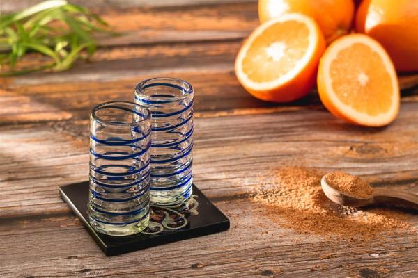Tequila-Gläser 2er Set, Espiral