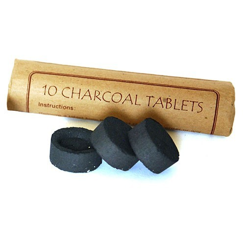 Kohletabletten für Räucherwerk