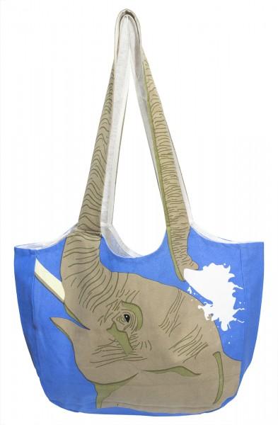 Fair Trade Einkaufstasche Elefant