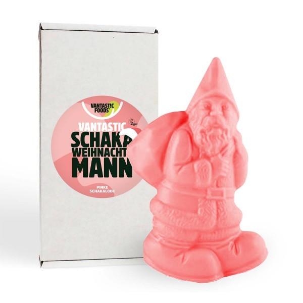 Vantastic Foods Veganer Schaka Weihnachtsmann pink, 100g