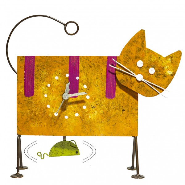 Los Oxidos Uhr Katze