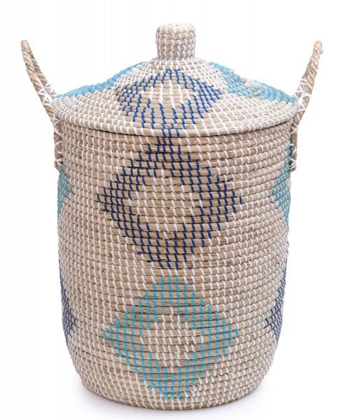 Wäschekorb Diamond, Seegras